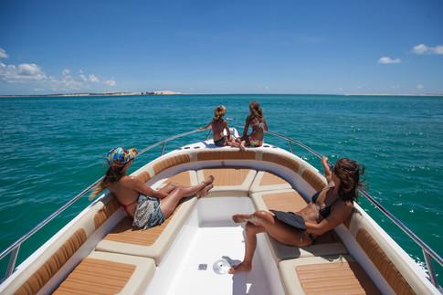 Family boat trips
