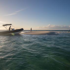 Sundown boat trips