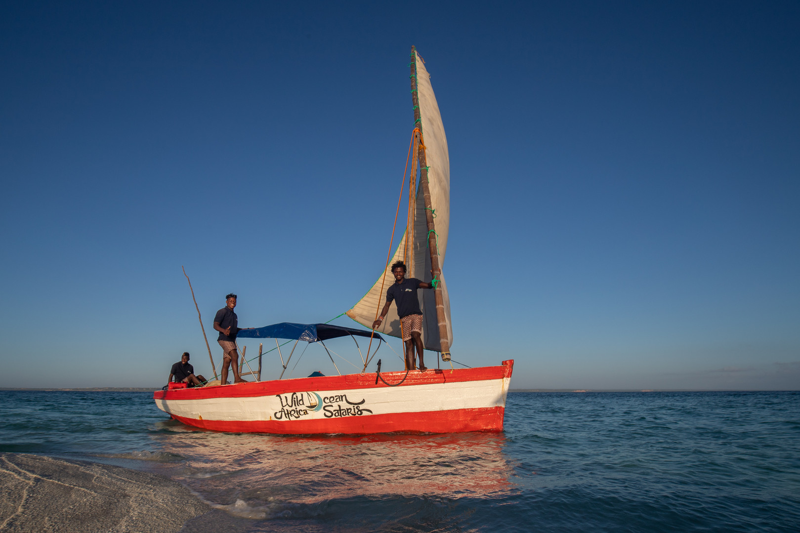 Dhow trips to the islands