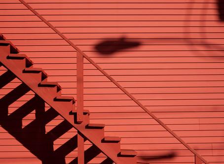 Wypadek na schodach
