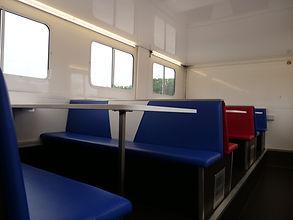 Double Decker Dinning Bus Trailer BBF
