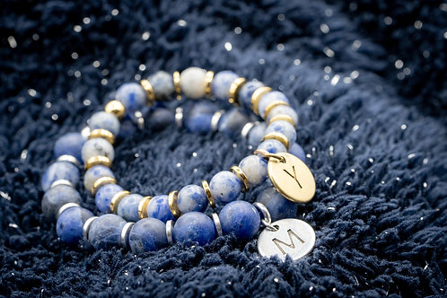 Bracelet Initiale LIBERTE