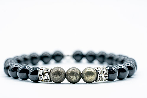Bracelet Nitescence Tourmaline Pyrite