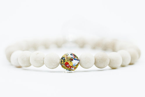 Bracelet Murano Agate