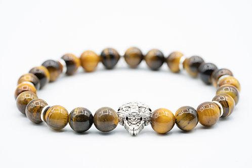 Bracelet Homme Oeil du Tigre