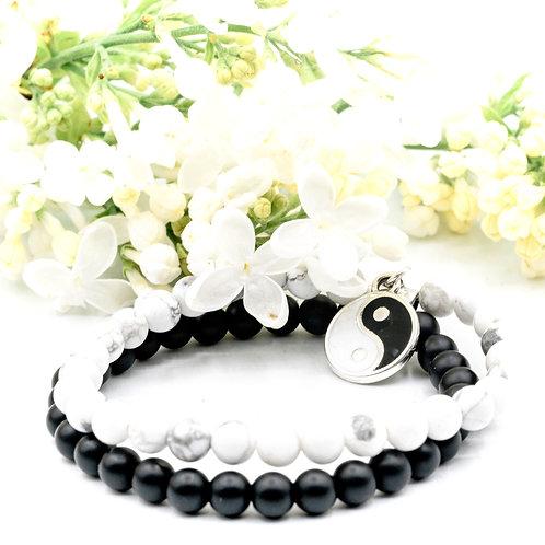 Bracelet double YIN YANG