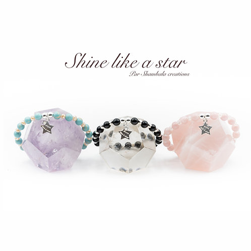 "Bracelet ""Shine like a star"" Argent 925"