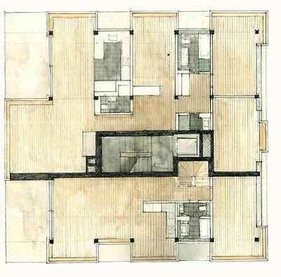 im Rebhügel Terrassenhaus Merklidegen Architekten