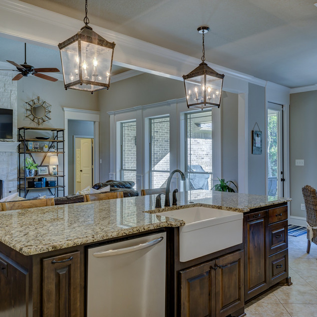 Kitchen and Living Remodel