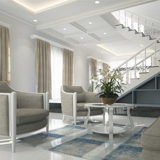 Classic Meets Modern Living Room