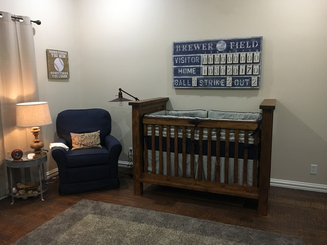 Batter Up - Vintage Baseball Nursery
