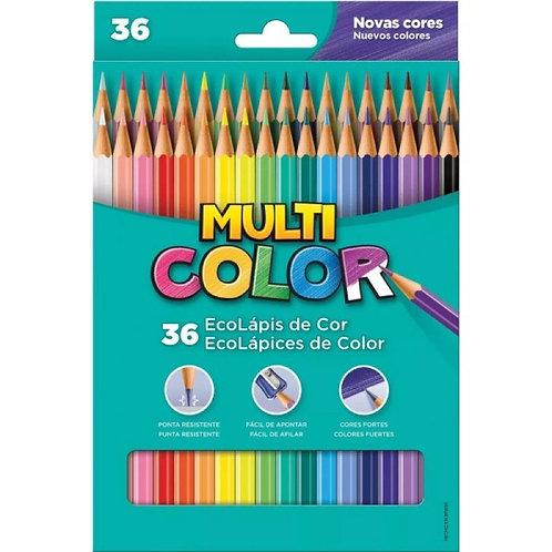 EcoLápis de Cor Multi Color 36 Cores