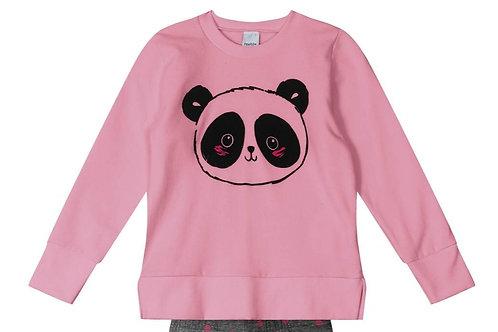 Casaco Moletom Panda