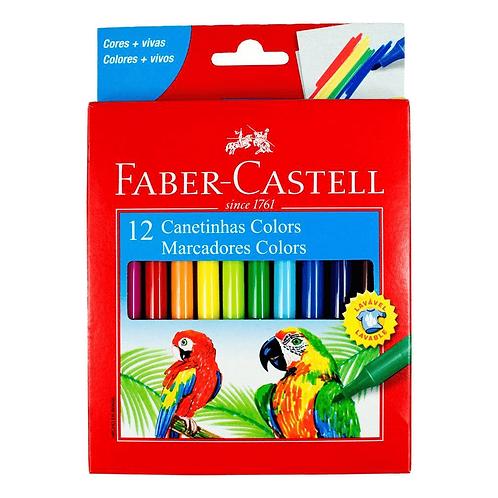 Canetinhas Colors Faber Castell