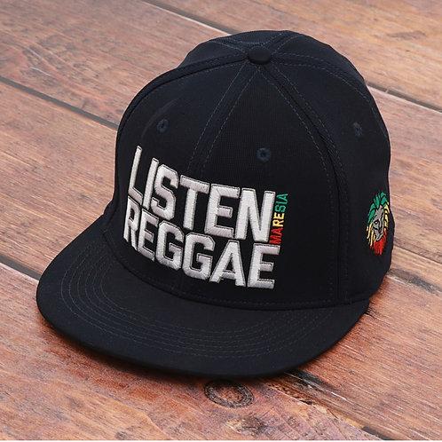 Boné Listen Reggae