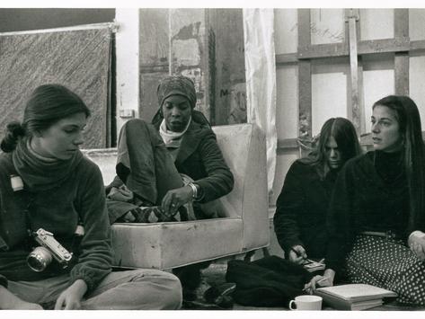 SFAI Painting Faculty, Mary Lovelace O'Neal, 1970s