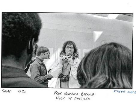 1972 SFAI April 20th, Howie Becker, SFAI Alum