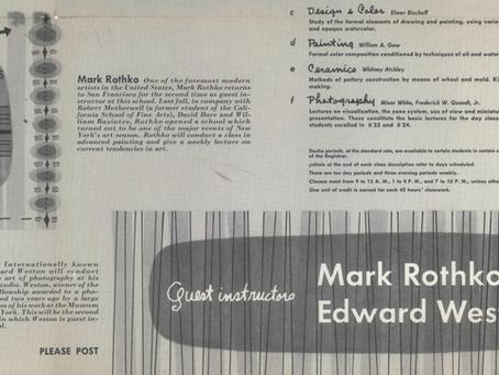 1948/1949, etc. Edward Weston, Mark Rothko