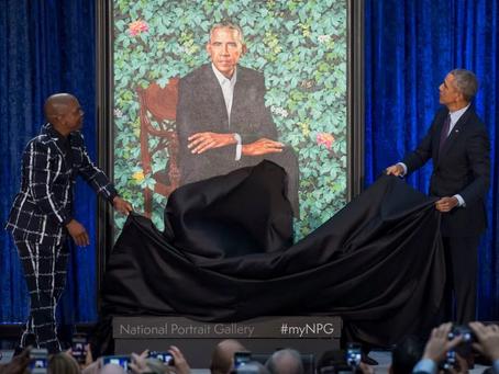 Pride!!! Kehinde Wiley, Barack Obama, Iona Brown