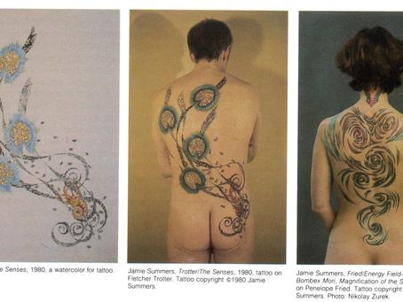 1971 1981 SFAI Tattoo, Jamie Summers, ArtForum