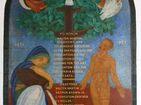 1927 Ray Boynton, Dedication Mural Painting for Arthur Brown Building