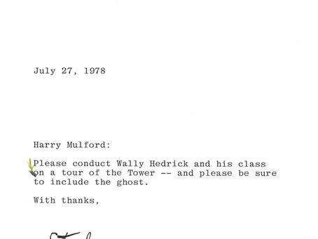 SFAI Ghost, Wally Hedrick, Stephen Goldstine, Harry Mulford