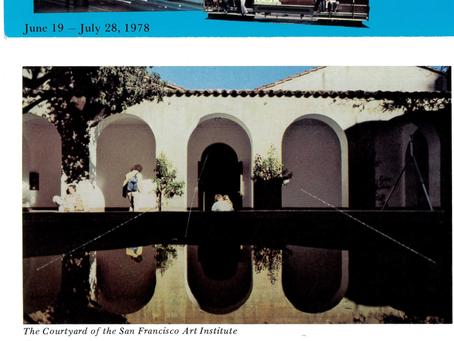Summer 1978 Paul Kos, Sultan/Mandel, Angela Davis, George Lakoff, Ferlinghetti, Lamantia, M. Kuchar