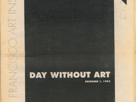 1992 SFAI Day Without Art