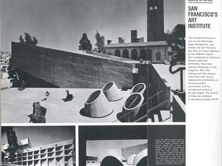 1970 SFAI, Architectural Forum, Paffard Clay