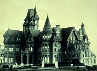 1893 SFAI & UC, Edward Searles and the Widow Hopkins
