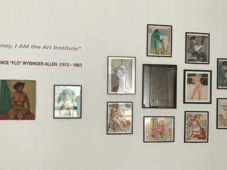 Flo Allen, SFAI 150th Exhibition, Come Visit!