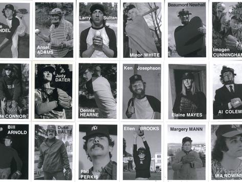 1975 Photographers Baseball Cards, Mike, Ansel, Minor, Beaumont, Imogen, Duke, Linda, Larry...