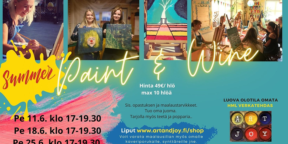 Paint and Wine 11.6.