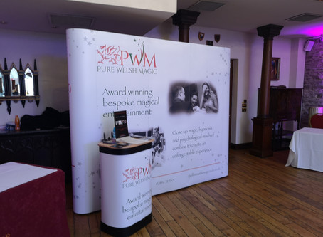 Wedding fayre at The Miskin Manor, Cardiff.