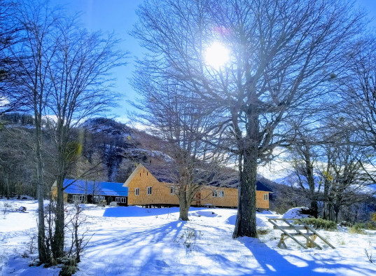 Monasterio invierno
