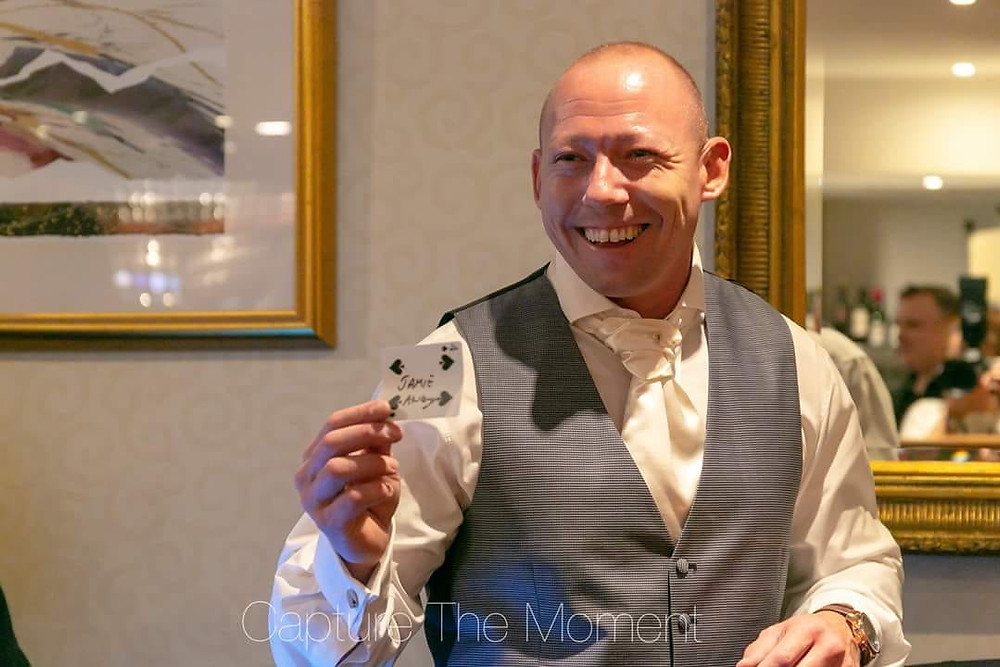 Cardiff magician, Cardiff wedding magician, wedding magician in Wales, wedding magician in Cardiff,