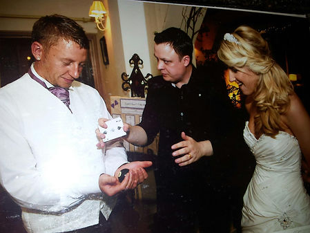 Cardiff wedding magician, Cardiff magician