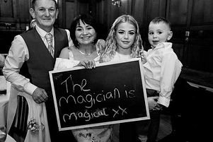 wedding magican south wales