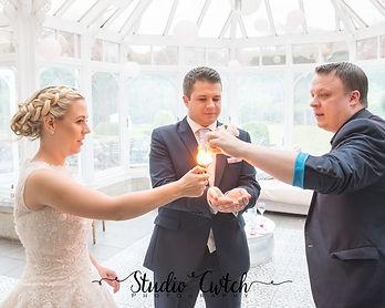 wedding magician wales