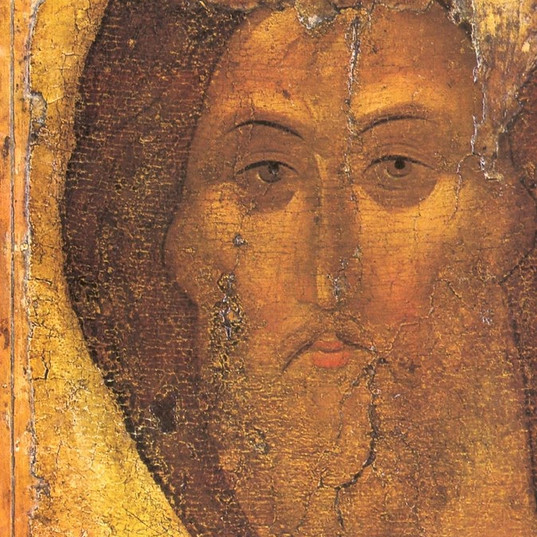 Cristo icono Rublev