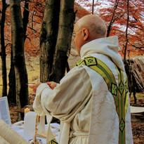 Misa en el campo