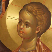 Niño Jesús icono