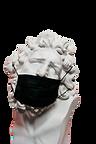 white-ceramic-sculpture-with-black-face-