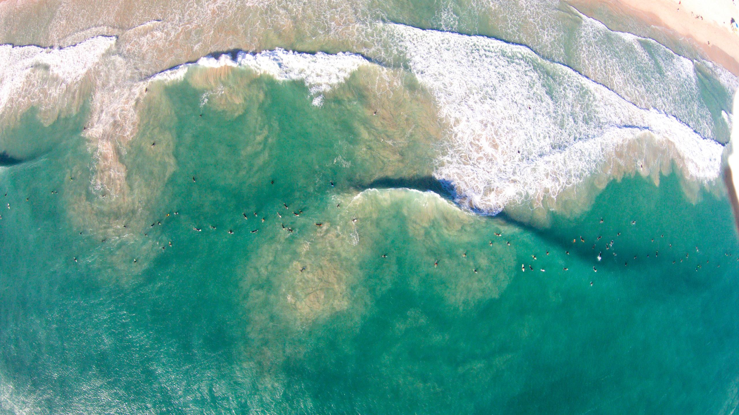 drone shot tropical aerials