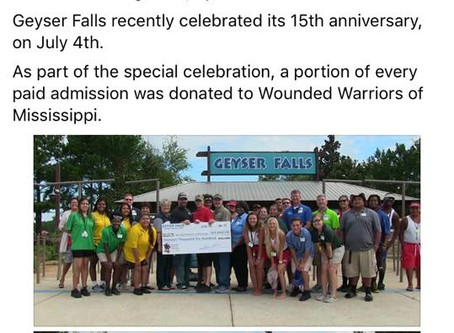 NEW SPONSOR FOR WOUNDED WARRIORS OF MISSISSIPPI