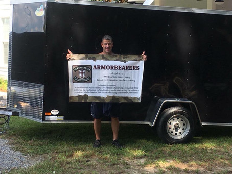 HUGE THANK YOU TO RON LAABS & ARMORBEARERS!
