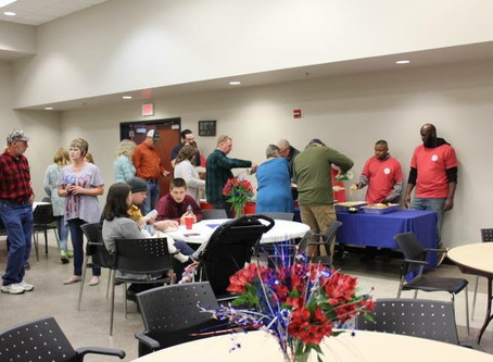 Veteran's Day Appreciation Dinner for Wounded Warriors of Mississippi