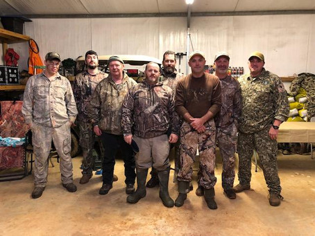 Hunting Season is in Full Swing for our Wounded Warriors of Mississippi