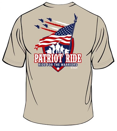 2021 PATRIOT RIDE SHIRT ONLY