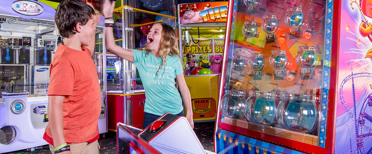 Birthday party arcade LazerPort Fun Center Pigeon Forge